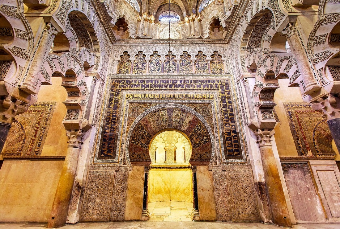 The Great Mosque-Cathedral of Córdoba - blue networks: social networks in the...
